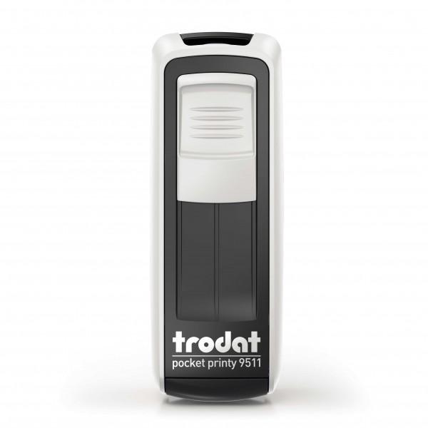 Trodat Pocket Printy 9511 Weiß