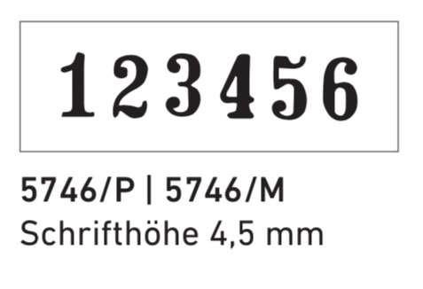 Trodat Printy 5746 Nummerierstempel