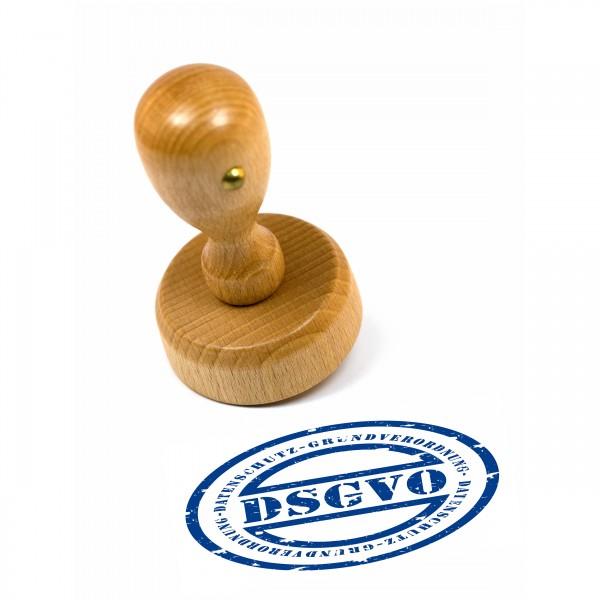 Stempelplatte für Holzstempel rund 12 mm