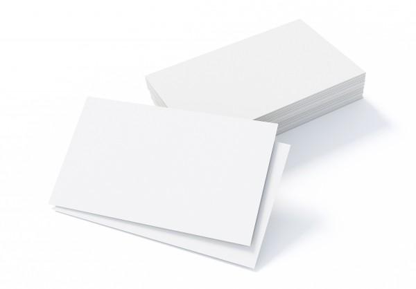 Visitenkarten 85x55 mm (300 g/m², 4/4-farbig)