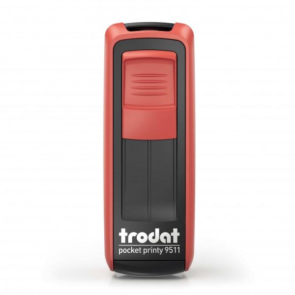 Trodat Pocket Printy 9511 Rot